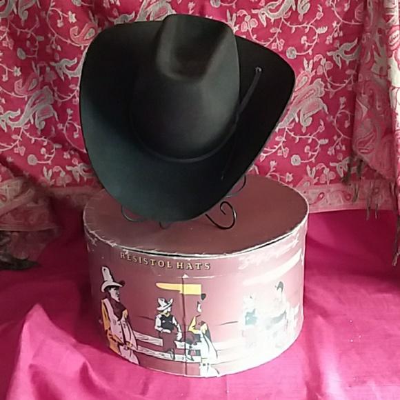 c3b3ef32a Vintage Resistol Cowboy Round Up 5X Beaver Hat